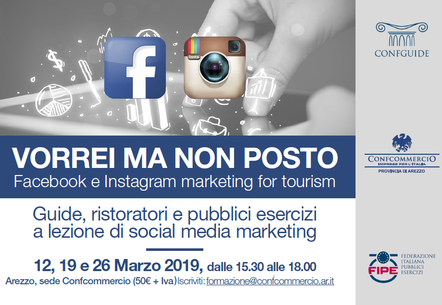 Vorrei ma non posto - Facebook e Instagram marketing for tourism